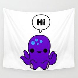 Octopus Conversation Wall Tapestry