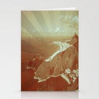 rio de janeiro Stationery Cards featuring Rio de Janeiro by amber havenside