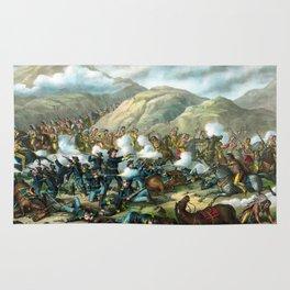 Battle Of The Big Horn Rug