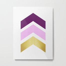 Minimalist Arrows Metal Print