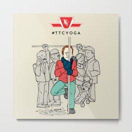 TTC YOGA 1 Metal Print