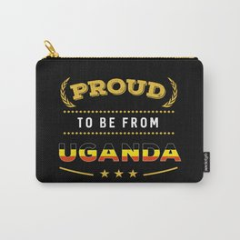 Proud To Be From Uganda Pride Carry-All Pouch