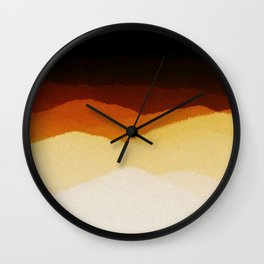 Home From The Hills Wall Clock