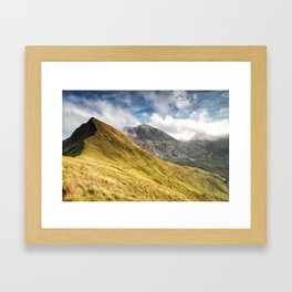 Mountain beauty Framed Art Print