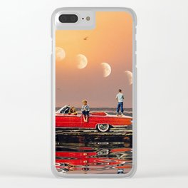 Car Over Water Clear iPhone Case