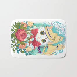 Sailor Kitty Bath Mat