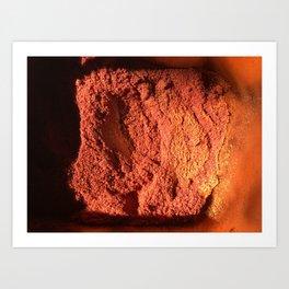 Red pepper in box Art Print