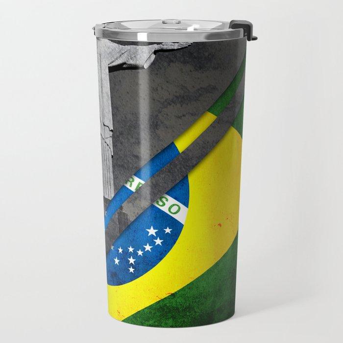 Flags - Brazil Travel Mug