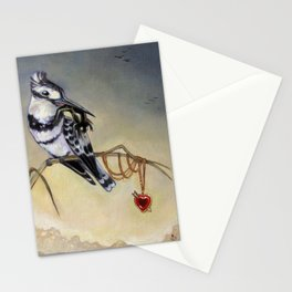 King of Hearts (Bird) Stationery Cards