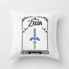 Zelda legend - Sword Throw Pillow