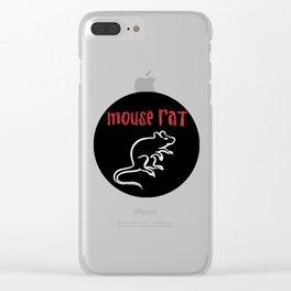 mouse rat Clear iPhone Case