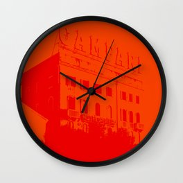 Venezia Red by FRANKENBERG Wall Clock