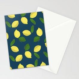 Acrylic Lemons Stationery Cards