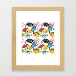 Coral Reef #1 Framed Art Print