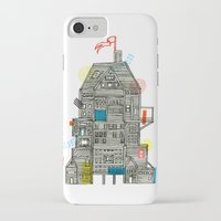 camp iPhone & iPod Cases featuring Holiday Camp by Marcelo Romero