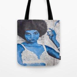 Indigo Joan  Tote Bag