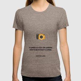 A camera T-shirt