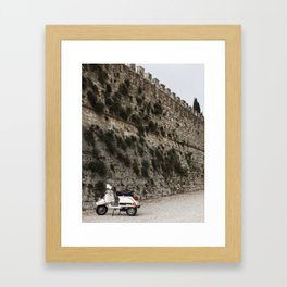 The Scooter Framed Art Print