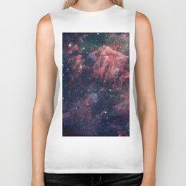 Nebula and Stars Biker Tank