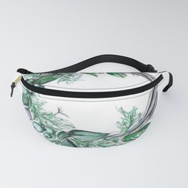 Wreath with berries Fanny Pack