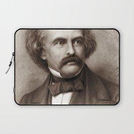 Nathaniel Hawthorne - American Novelist Laptop Sleeve