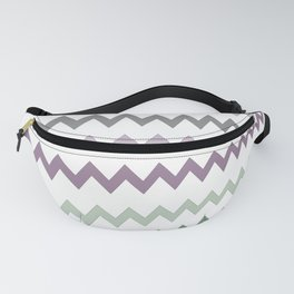 Pastel Sawtooth Fanny Pack