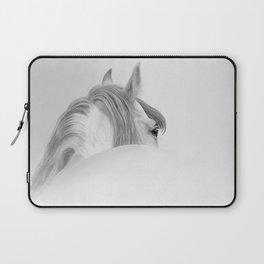Andalusian Stallion - Digital Painting Laptop Sleeve