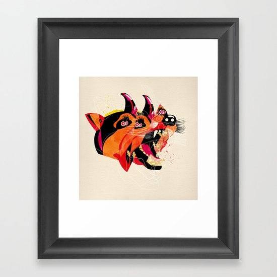 can/can Framed Art Print