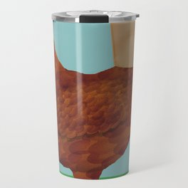 Don't Eat Anything with a Face Travel Mug