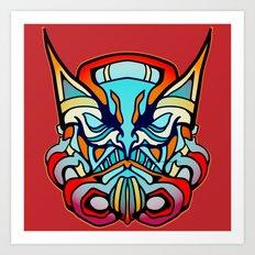 Wolverine + StormTrooper Art Print