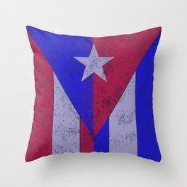 Cuba Rico Throw Pillow