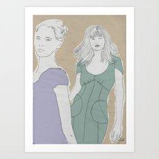 They  Art Print