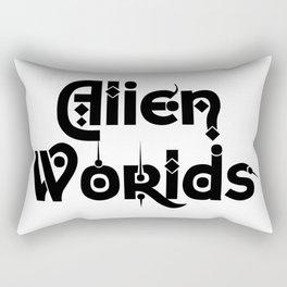 Alien Worlds Rectangular Pillow