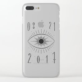 Total Eclipse Clear iPhone Case