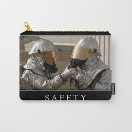 Safety: Inspirational Quote and Motivational Poster Carry-All Pouch