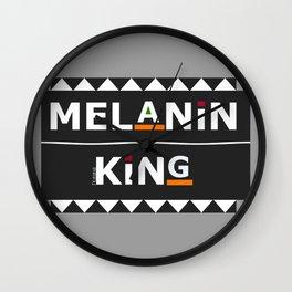 Melanin King Wall Clock