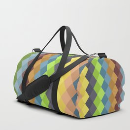 Retro rombs Duffle Bag