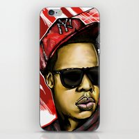 jay z iPhone & iPod Skins featuring Jay Z by C.Love Designs