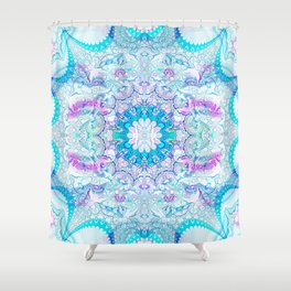 Lacy Mandala Shower Curtain