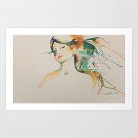 Art Print featuring Enclave by Alejandra Ramos
