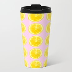 LEMON Metal Travel Mug