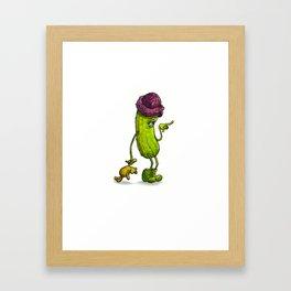 I Pickled You! Framed Art Print