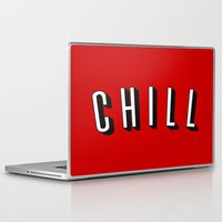 chill Laptop & iPad Skins featuring Chill by Jessie Rose