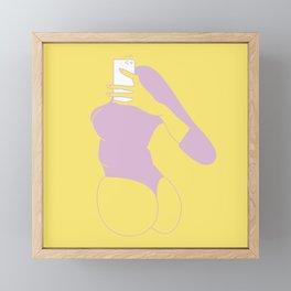 Say cheese! Framed Mini Art Print