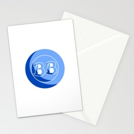 Blue Button Short Film Logo Stationery Cards
