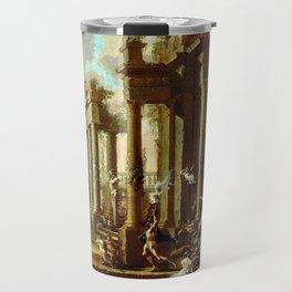 Alessandro Magnasco The Triumph of Venus Travel Mug