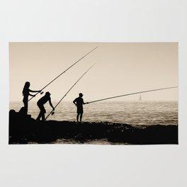 Three Fishermen Rug