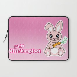 Little Miss Jumpfoot Laptop Sleeve
