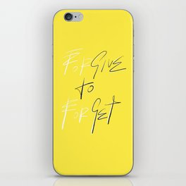 GIVE TO GET iPhone Skin