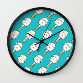 Space ice Wall Clock